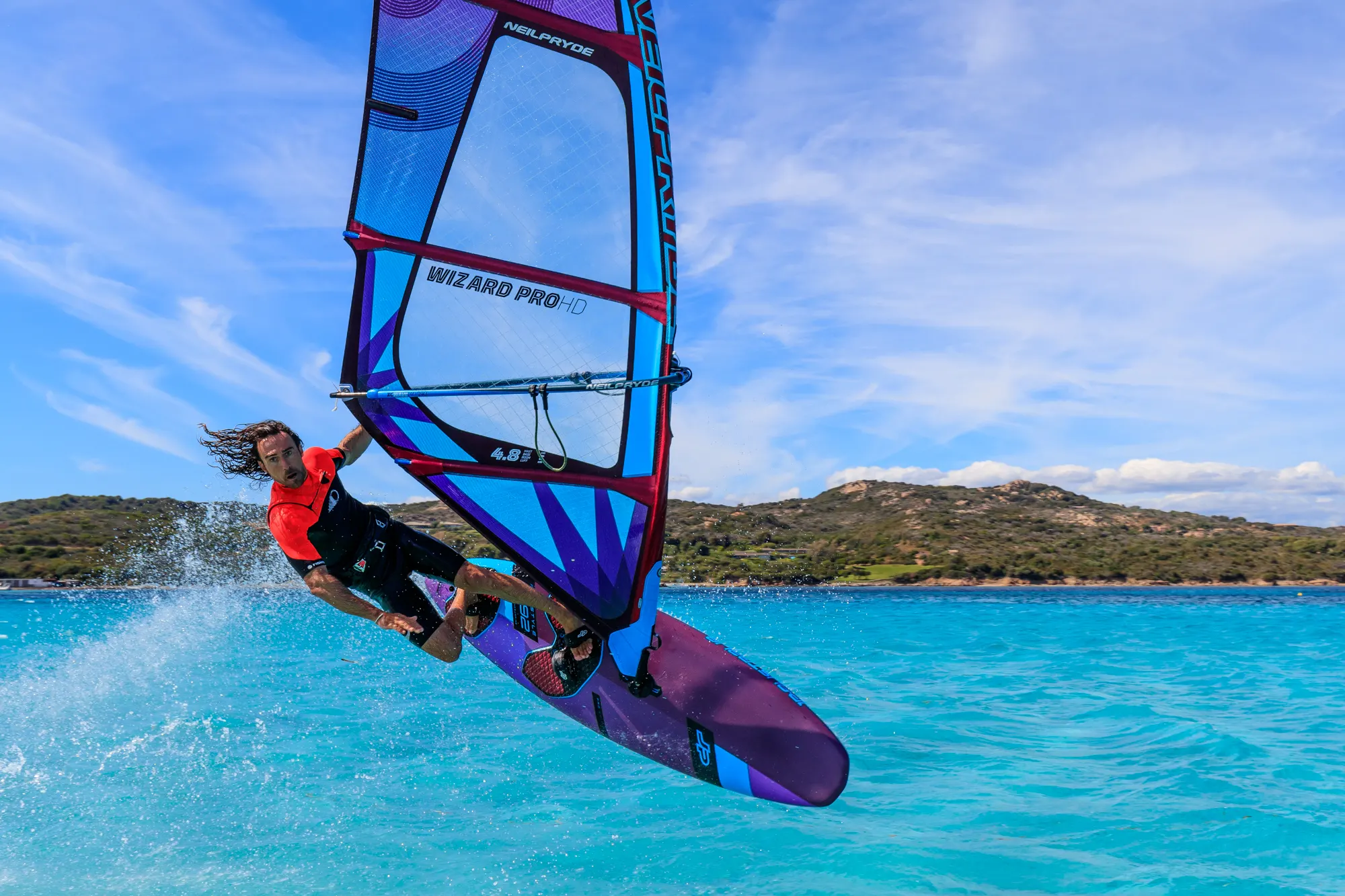 wizard pro hd neilpryde 2020 plachta na freestyle windsurfing karlin