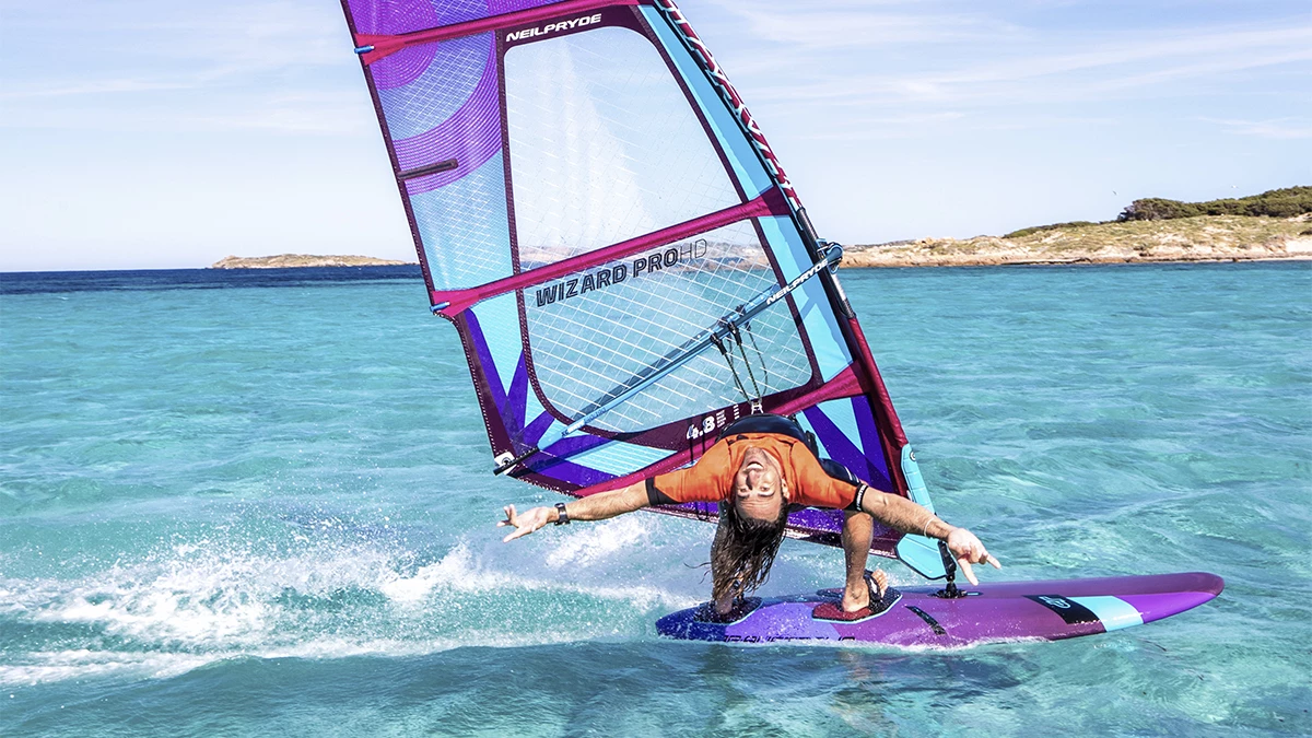 wizard pro plachta na freestyle windsurfing karlin neilpryde