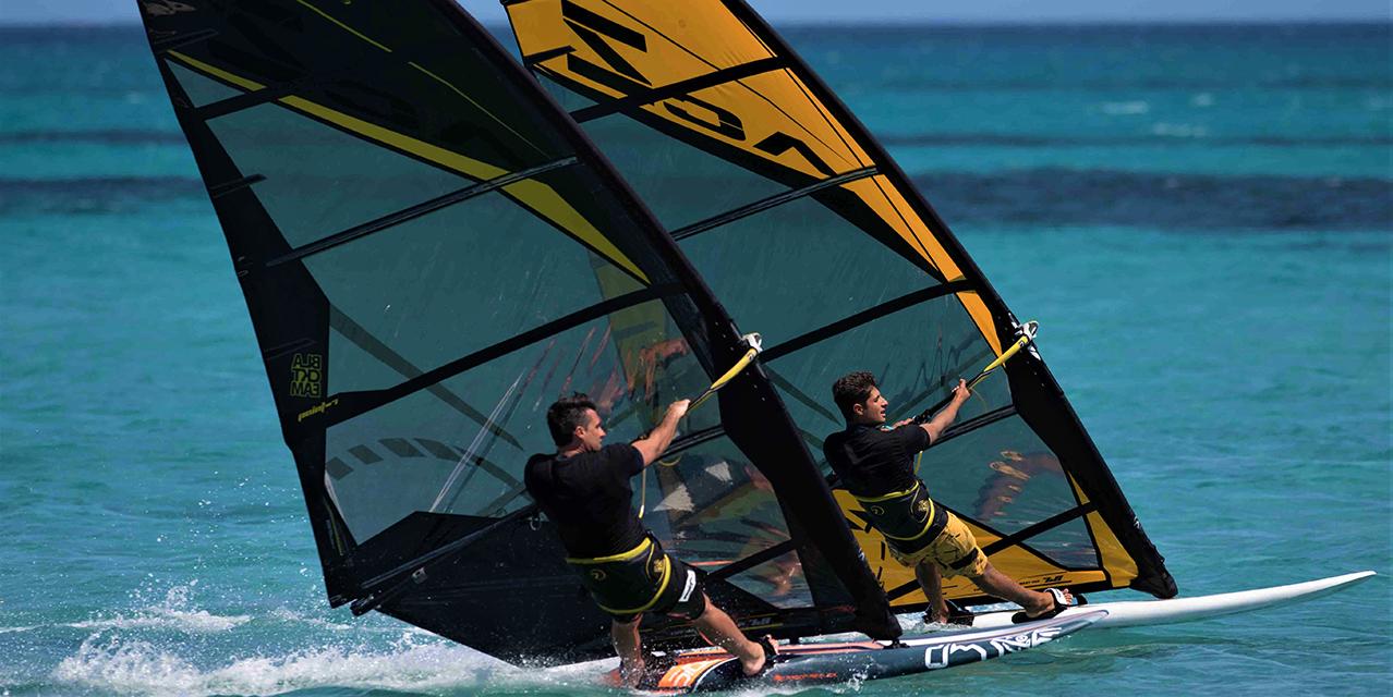 acz freerace slalom 2 kembry windsurfing karlin point7 black yellow